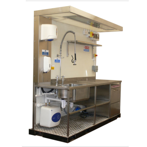 Temporary Kitchen Rental With Commercial Catering Equipment For Events